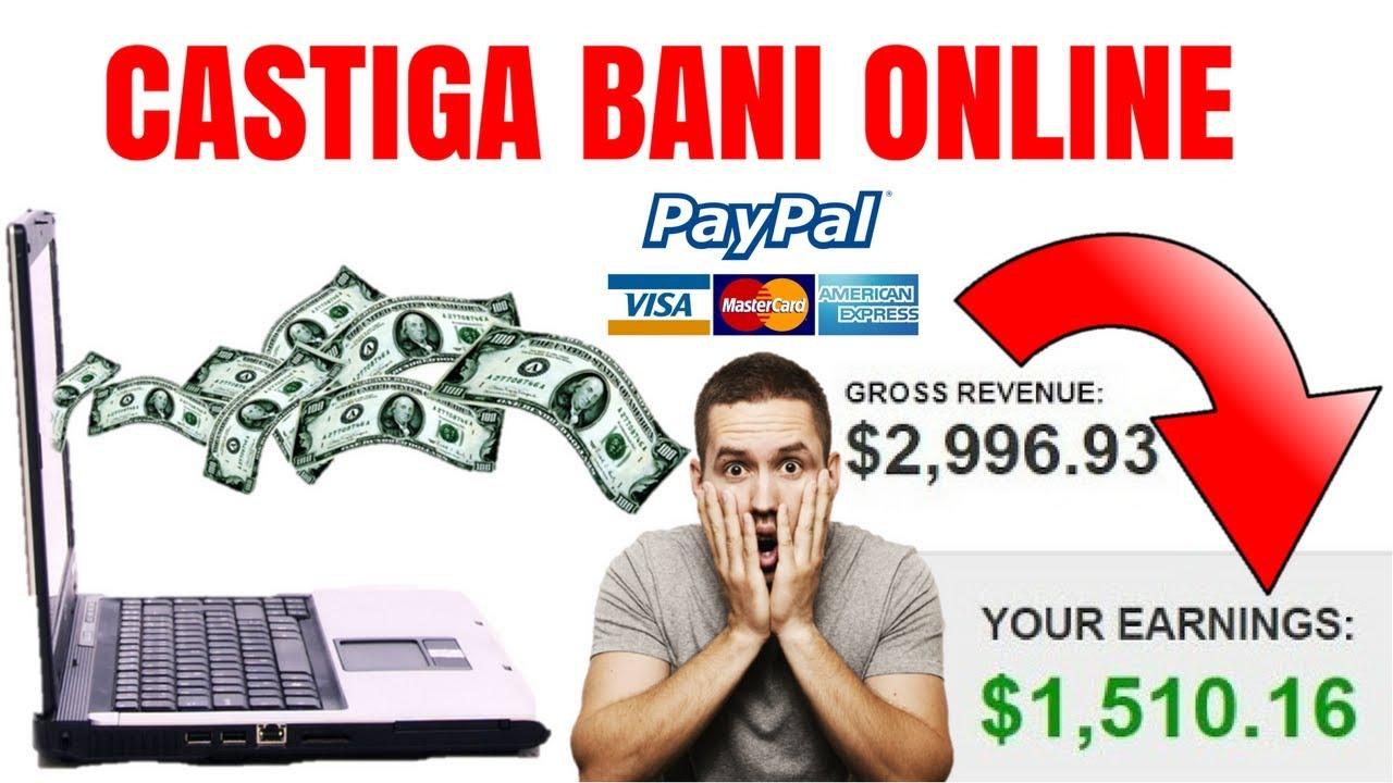 prima opțiune vreau să câștig bani online