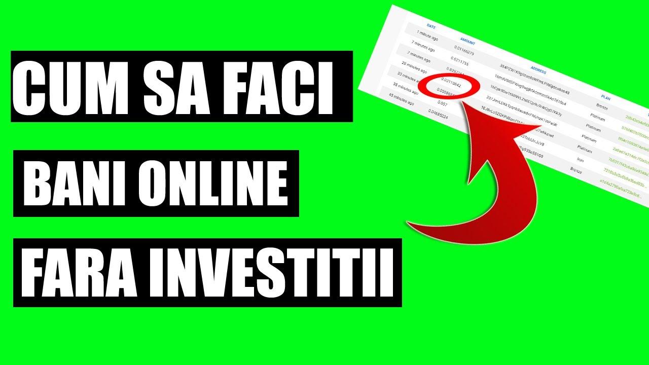câștiguri bani de afaceri pe internet cea mai bună platformă de tranzacționare de pe bursă