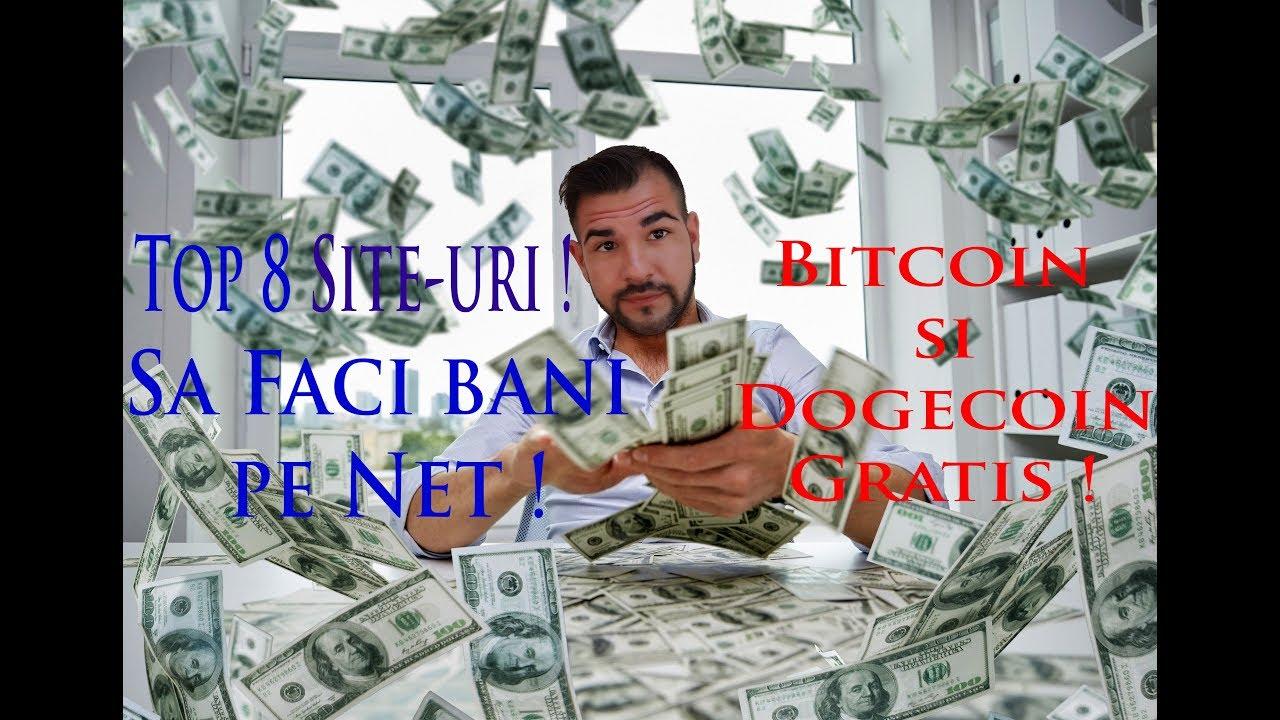 Idei pentru a câștiga bani pe internet