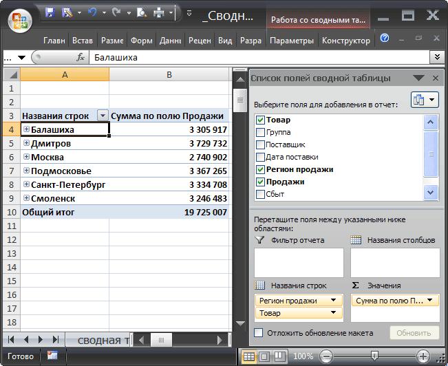 widget- uri pentru opțiuni binare