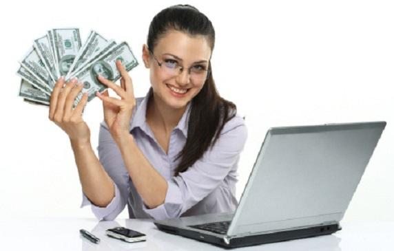 câștigând bani acasă pe internet