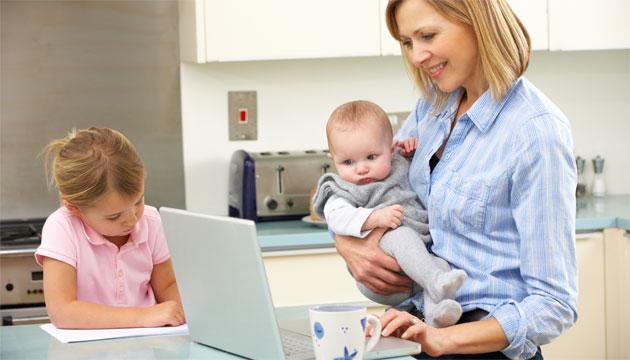 cum poate o mamă singură să câștige bani acasă câștigați bani fără un site web folosind
