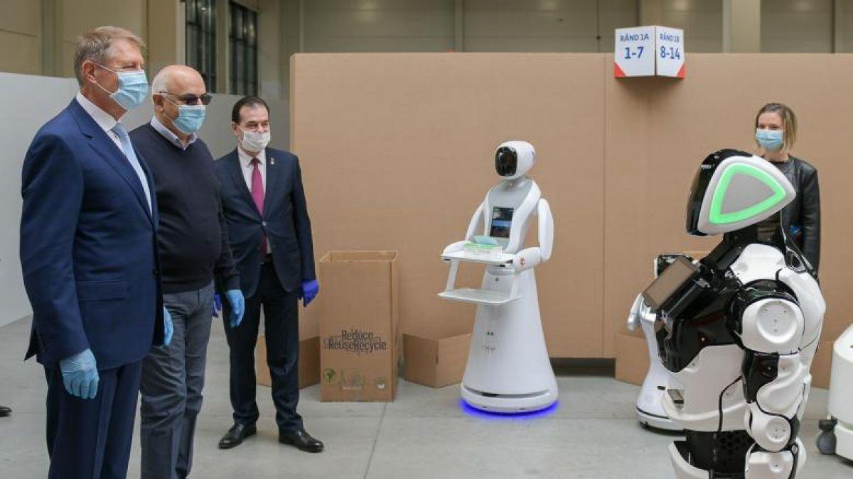 roboți în opțiuni