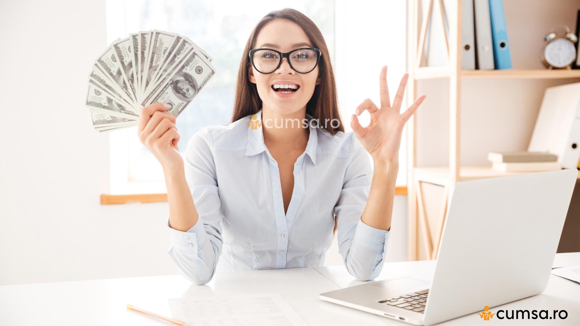 în căutarea unui loc de muncă cu bani ușori